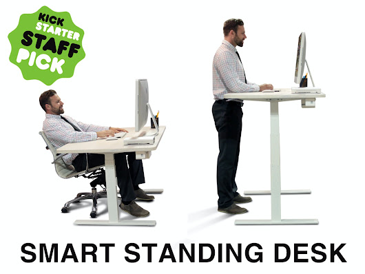 The Smartest Height-Adjustable Sit-Stand Desk, Powered By AI by Robotbase — Kickstarter
