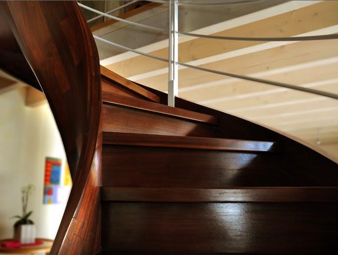 arredamenti con scale in legno