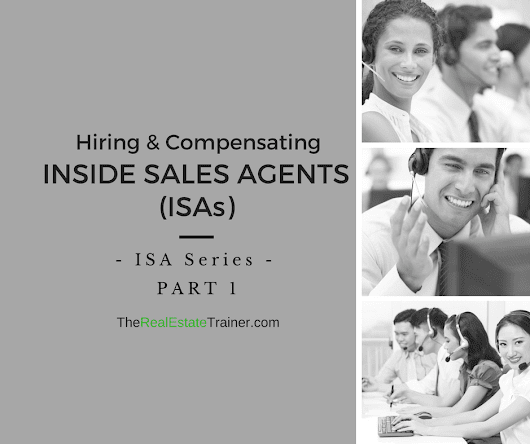 ISA Series Part 1 - Hiring & Compensating Inside Sales Agents
