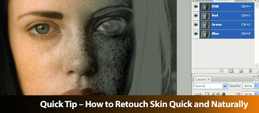 Quick Tip – How to Retouch Skin Quick and Naturally - DesignOptimal.com
