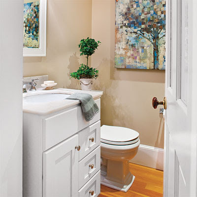 Adding a Bonus Bath | From Unused Space to a Home Office Full of ...