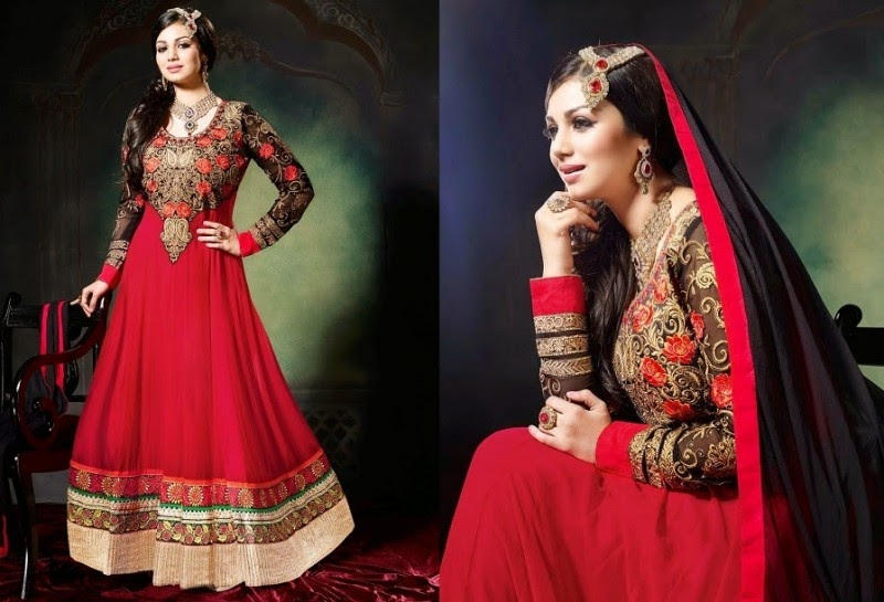 Charismatic Anarkali Frocks Suits New Fashion Of