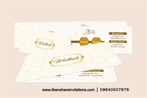 wedding cards in chennai  Wedding Invitations in anna