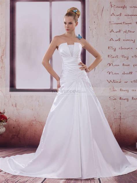 ideas  satin wedding gowns  pinterest satin