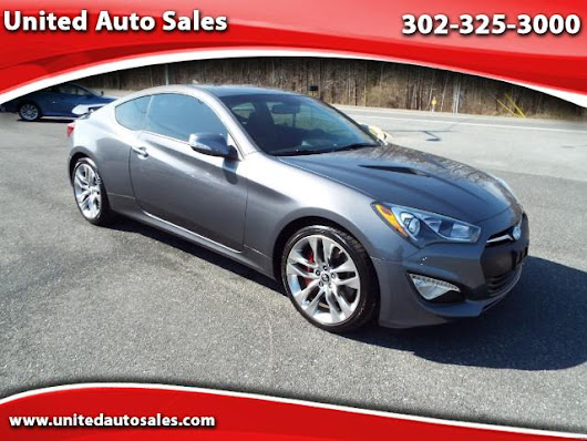 Used 2015 Hyundai Genesis Coupe 3.8 Ultimate 6MT for Sale in New Castle DE 19720 United Auto Sales