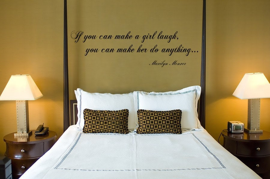 Vinyl Wall Decal Sticker Art Quote Marilyn by EmpireCityStudios