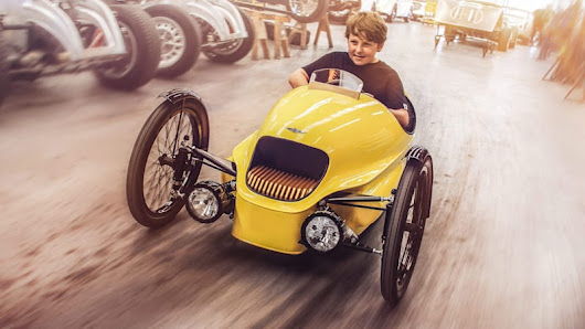 Morgan EV3 Junior is a mini three-wheeled EV for aspiring enthusiasts - Autoblog