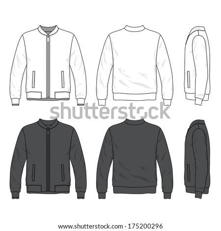 6200 Koleksi Desain Jaket Polos Vector Gratis Terbaru