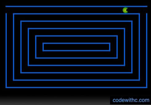 Pacman Game in C | Code with C