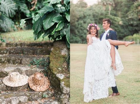 Waimea Valley Wedding Inspiration   Rae Marshall Photography