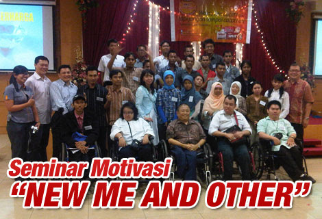 Seminar Motivasi New Me And Other | Adrian Luis
