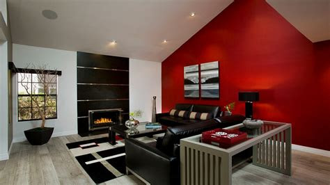 Decorating Ideas For Living Room With Red Walls