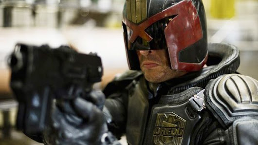"Dredd boss says the TV show will ""combine the macabre with the insane and the light-hearted"""