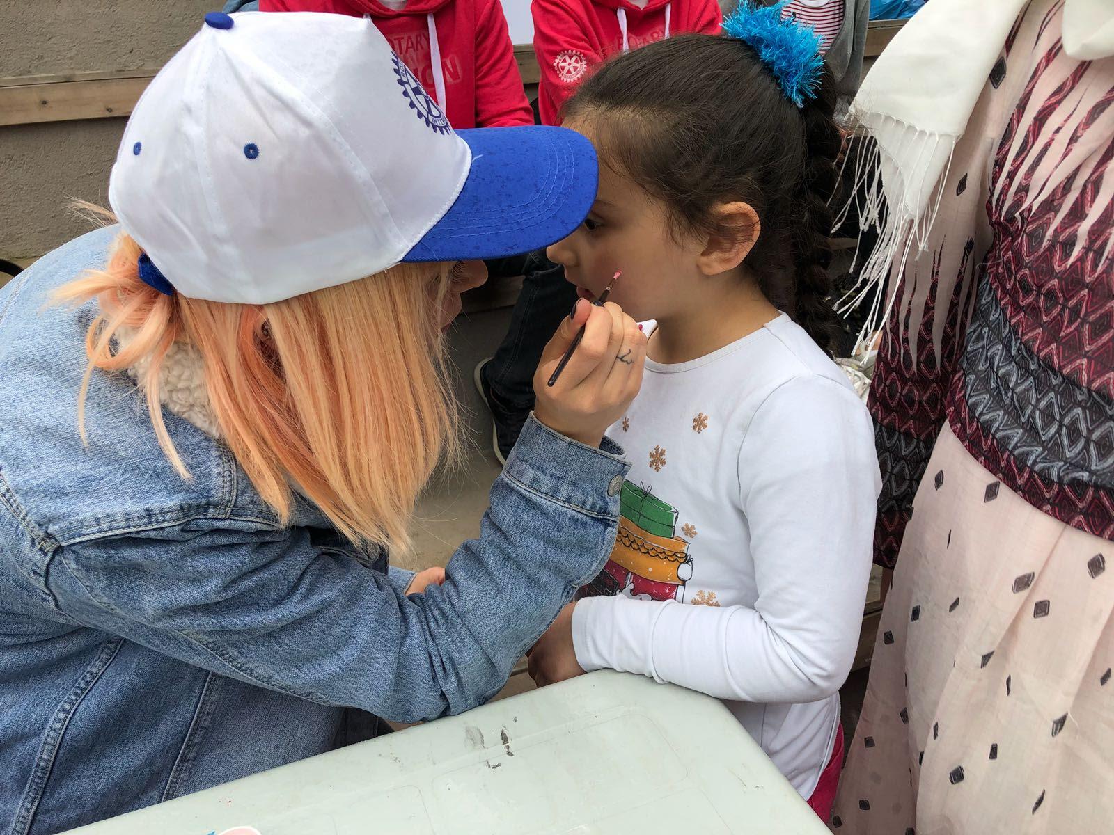 06052018 Kelebek Festivali Yüz Boyama Standı Bakırköy Rotaract