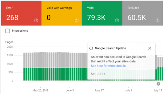 "Please Don't Let The ""Google Search Update"" Notice In Search Console Confuse You"