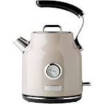 Haden Dorset 1.7 Liter Stainless Steel Electric Kettle with Auto Shut Off, Beige at Spreetail (VMinnovations | VM Express)