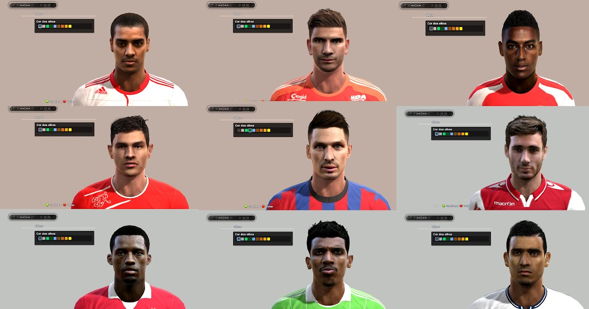 hot sale online 73547 14c6b ... PES 2013 Facepack Europeu 5 by James17 - the pes ...