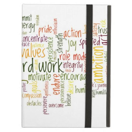 Motivational Words #2 positive attitude iPad Case