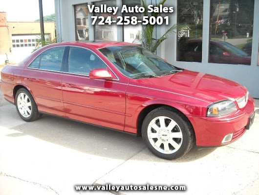 Used 2005 Lincoln LS for Sale in New Eagle PA 15067 Valley Auto Sales