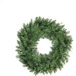 """Northlight 30"""" Buffalo Fir Artificial Christmas Wreath - Unlit"""