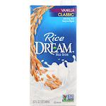 Dream: Rice Dream Vanilla Rice Drink, 32 Fo