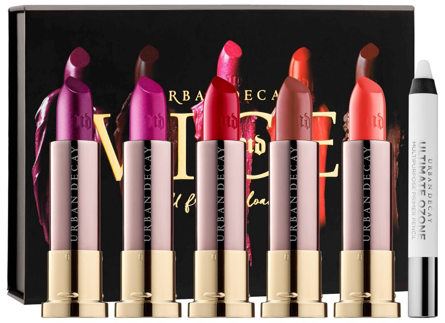 Urban Decay Full Frontal Reloaded Vice Lipstick Stash for Holiday 2016