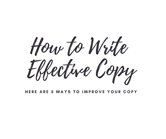 How To Write Effective Copy
