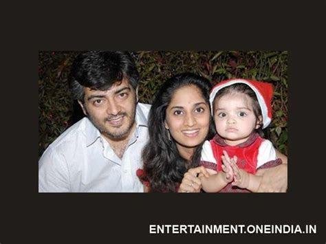 Ajith   Shalini   Second Baby   Filmibeat