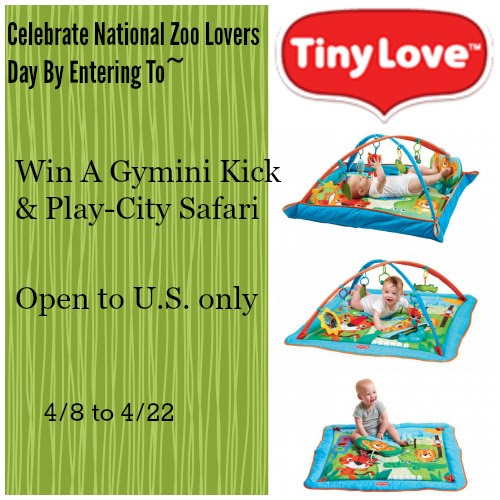Gymini Kick & Play-City Safari Giveaway