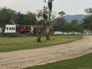 Ninho do Urubu, treino do Flamengo (Foto: Gustavo Rotstein)