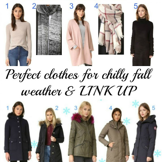 Perfect clothes for chilly fall weather and LINK UP - Beauty by Miss L