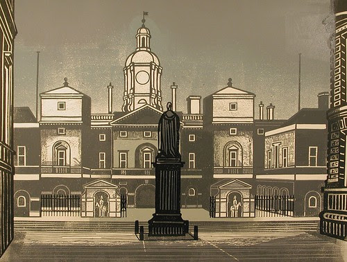 Nine London Monuments series 1966 (via cecilhigginsartgallery)