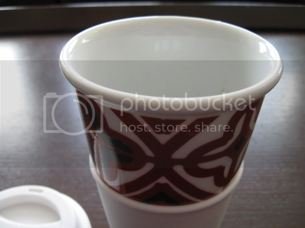 porcelain non-paper cup