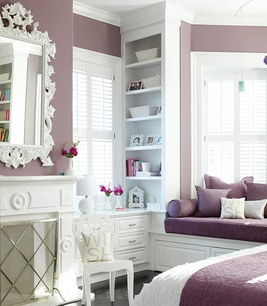 Ideas For Bedroom Decor Decorating With Purple From Deep Eggplant To Pale Lavender Purple Is A