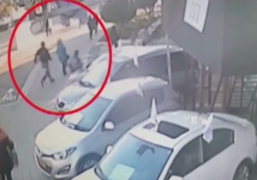 WATCH: Dramatic video of Tel Aviv terrorist pursuing victims as he flees bus