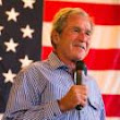 George W. Bush: 'Evil is read'