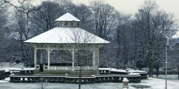 Greenhead park in winter