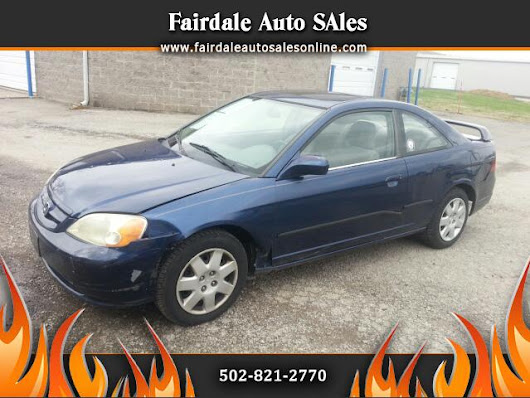 Used 2001 Honda Civic for Sale in Louisville KY 40214 Fairdale Auto Sales
