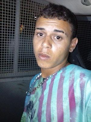 Daniel Dantas Sobrinho, de 19 anos, foi recapturado nesta quinta (14) na BR-101 (Foto: Divulgação/Sesed)