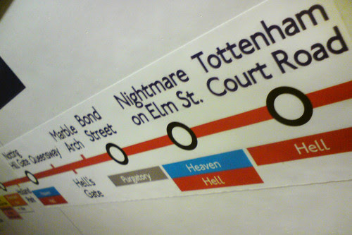 Someone has made fake London Underground signs, and whoever did it is a ruddy genius.