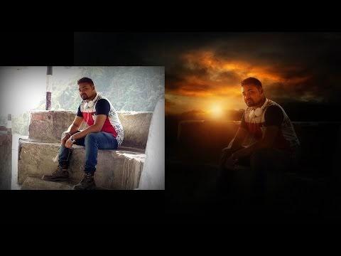 Photoshop Manipulation Tutorial  | Creating sunrise effects  | Glow ligh...