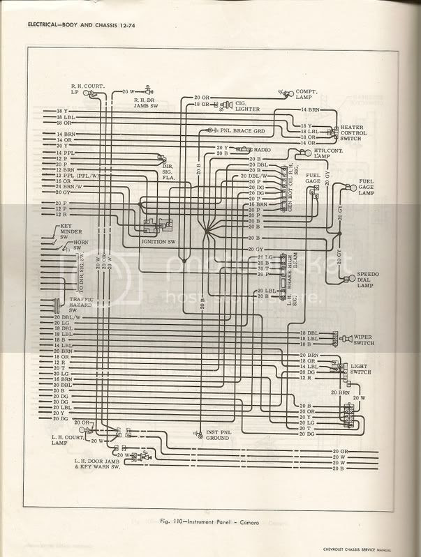 Wiring Diagram For Under The Hood On 69 Camaro Team Camaro Tech
