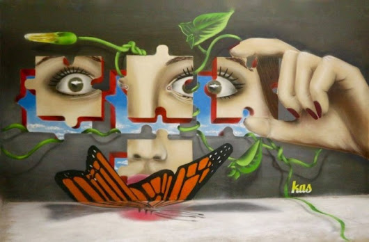 Puzzles walls by Kas - Art People Gallery