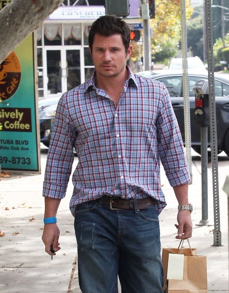 Nick Lachey - Nick Lachey Grabs Some Lunch