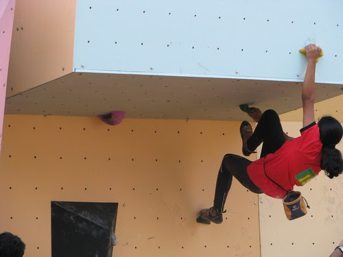 15th_National_Sports_Climbing_Bouldering_Divya
