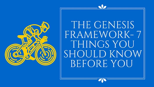 The Genesis Framework Things you should know Before you Buy