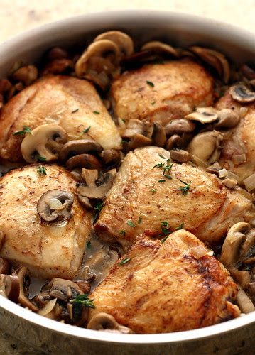 Madeira Chicken with Mushrooms