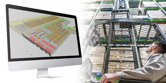 Planning a warehouse: How to use simulation software to help