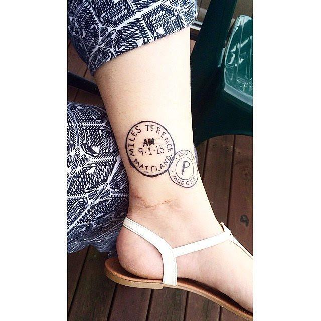 Tatuajes Que Toda Mamá Primeriza Amará Mujer De 10