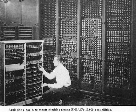 February 15, 1946: ENIAC Debuts at University of Pennsylvania